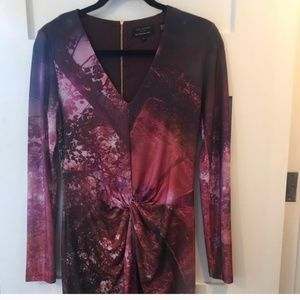 Ted Baker stretchy long sleeve dress